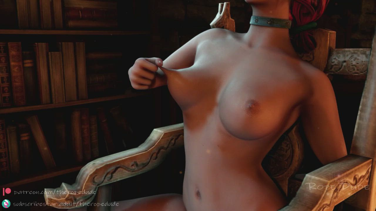 Triss self forced (the rope dude) [The Awakening]