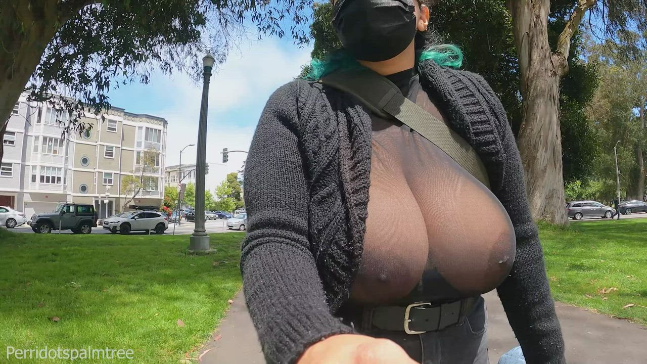 Yes, it is a bit nipply out. I mean 'nippy out.'