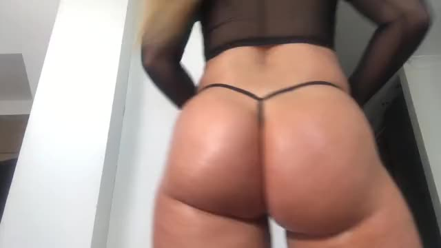 What a Great Thong, Ass is Gorgeous at The Same Time