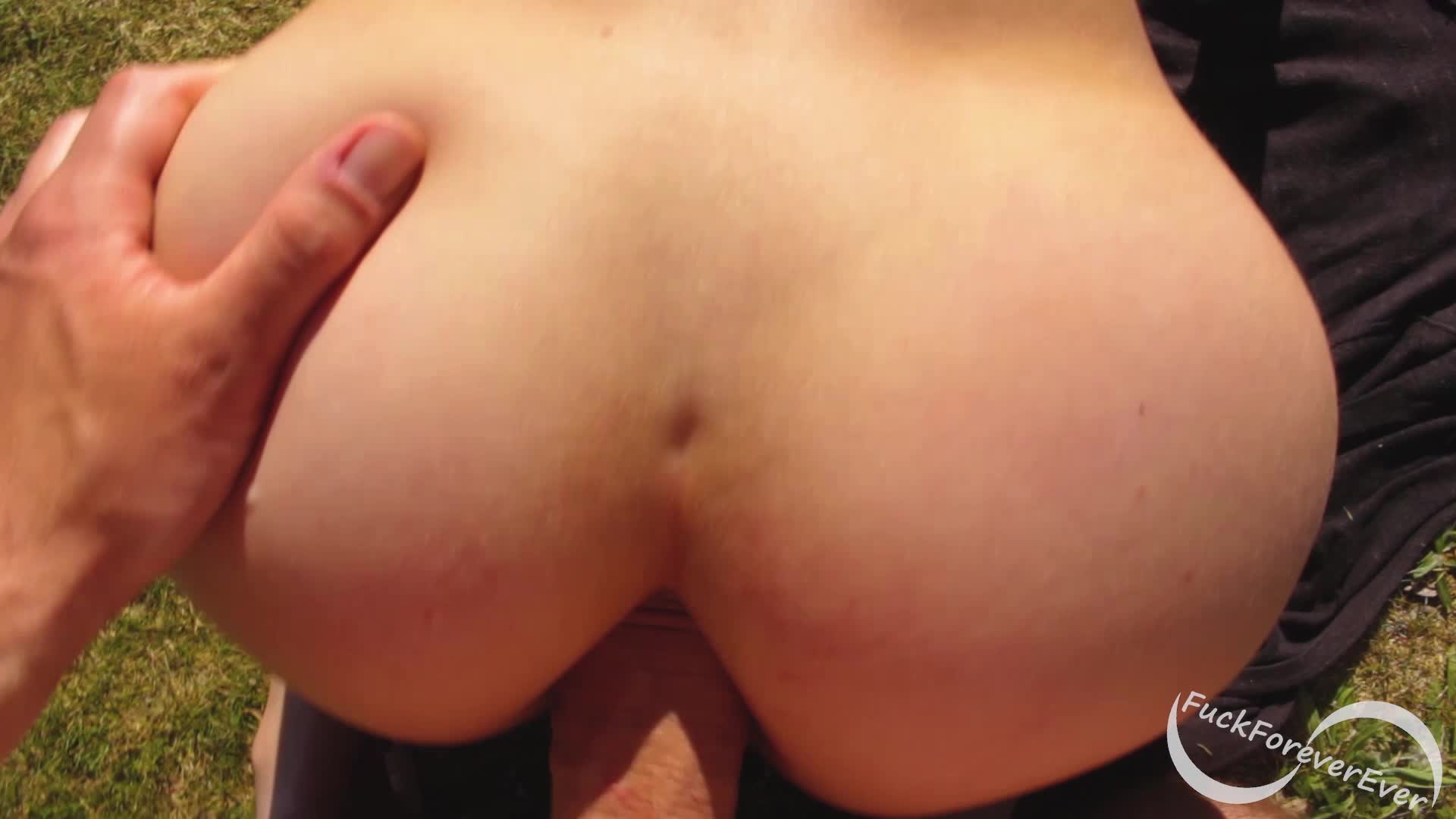 Anal sex outdoors