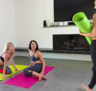 Pilates classes with the bffs