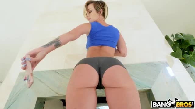PAWG Jada Stevens Strips out of Her Booty Shorts and Thong [0:40]
