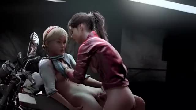 Resident Evil - Claire and Sherry