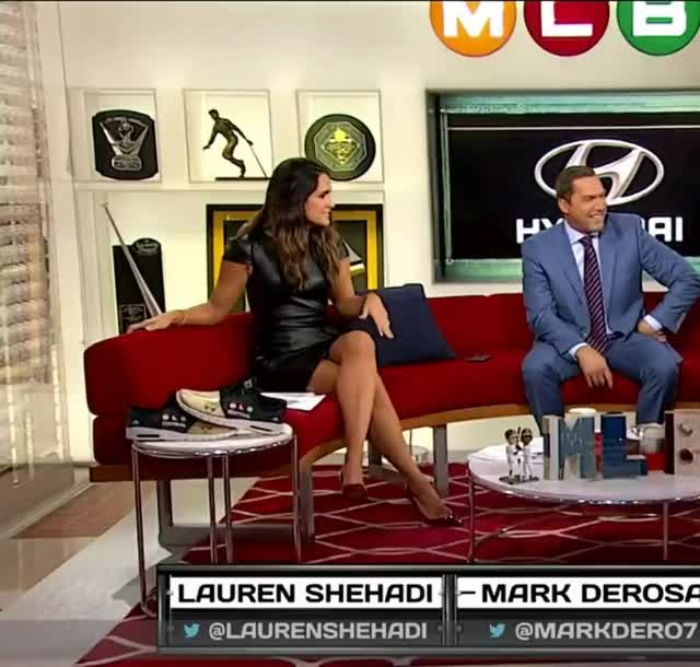lauren Shehadi and those sexy legs make me so hard
