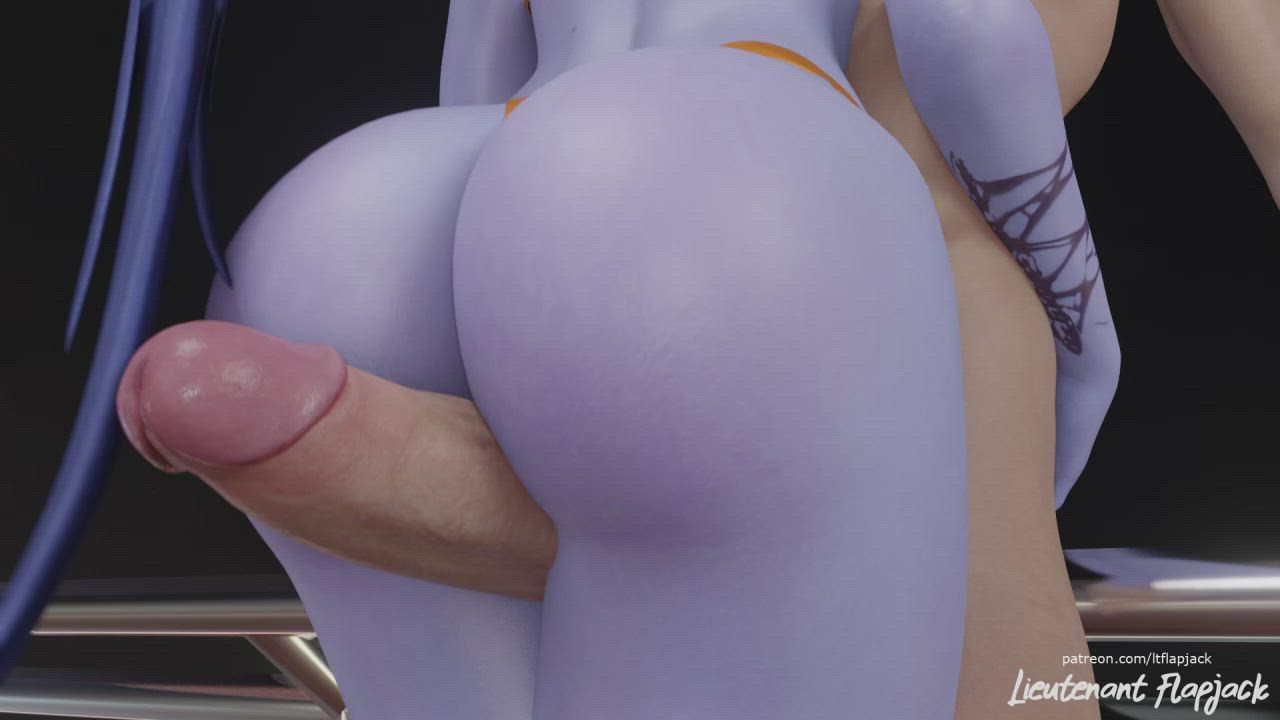 3D Animation Big Ass Bubble Butt Dirty Talk Hentai Overwatch Pawg Rule34 Thick