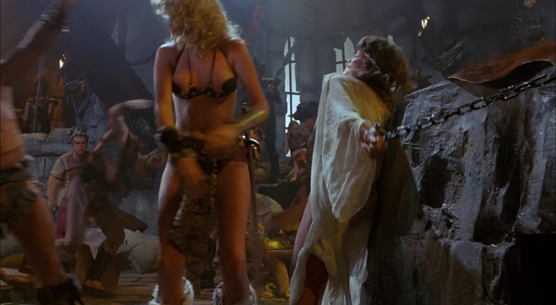 Lana Clarkson and Barbi Benton - Deathstalker (1983) -- probably the best Gor movie ever made