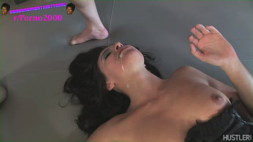 Danica lets a group of guys take turns fucking her in her pussy/ass until they cum in her mouth. Gangbanged slut. 👑👍💯