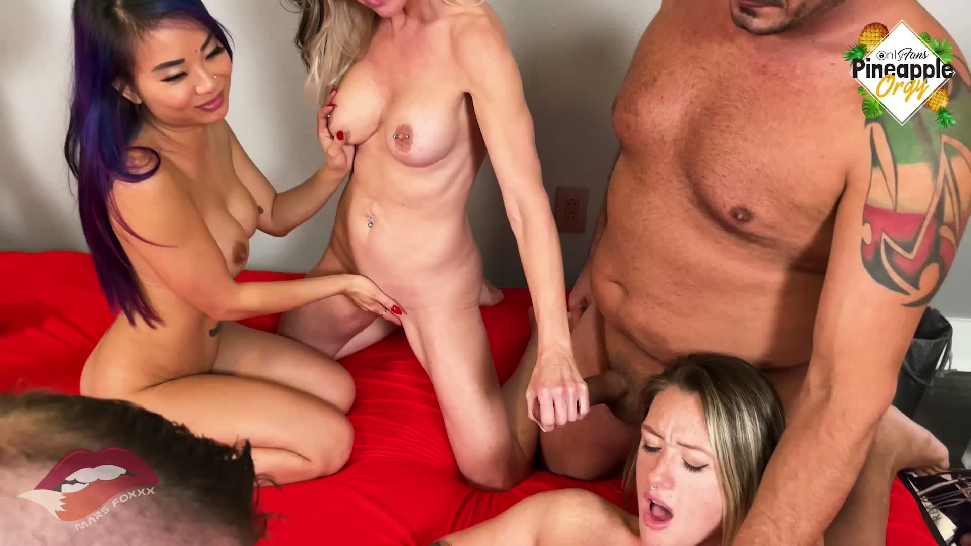 My first ever Orgy was amazing!