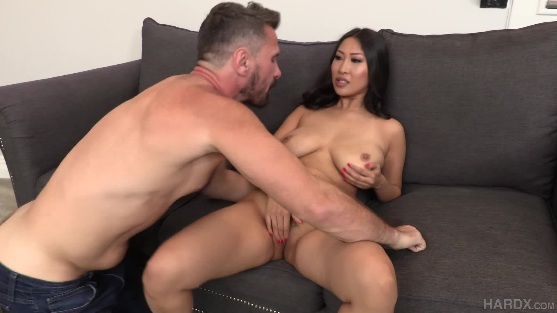 Sharon Lee getting both holes worked