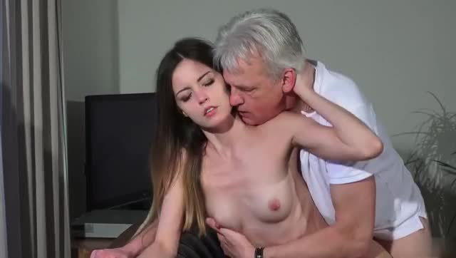 pierced cutie can't live without feeling dads knob in all poses