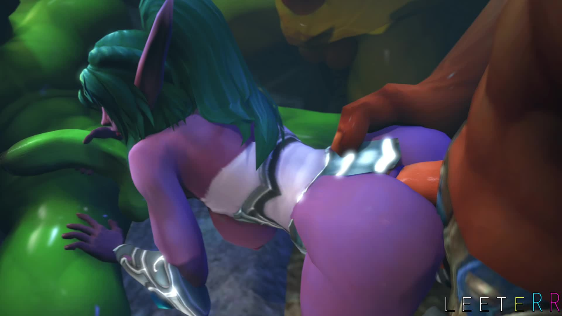 Warcraft porn butt fuck sex photo