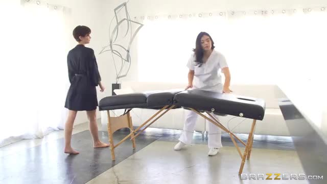 Emily Addison and Violet Starr - Hardcore Massage From Hell