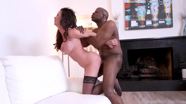 Nikki Benz Interracial Doggy Pounding