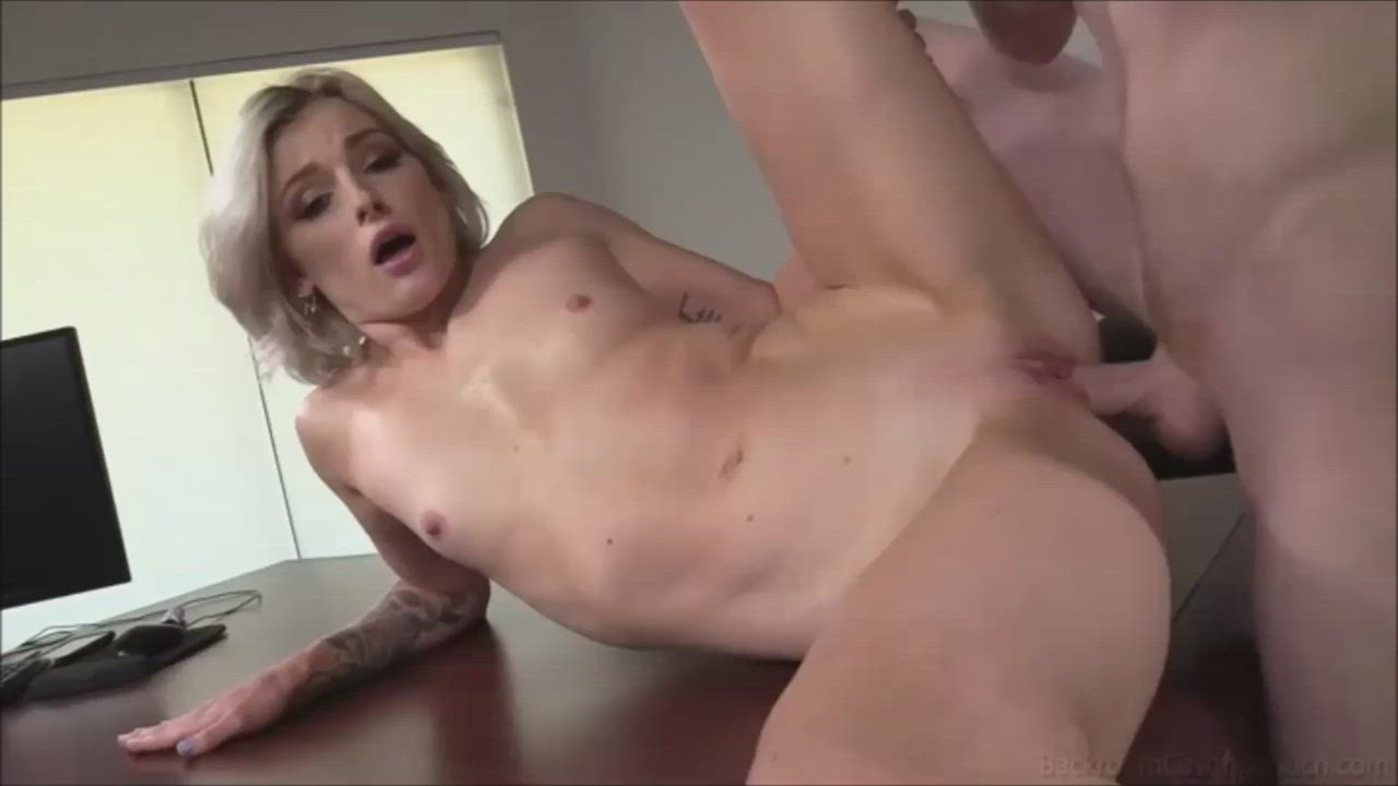 Lovely Blonde Amateur fucked hard in debut.
