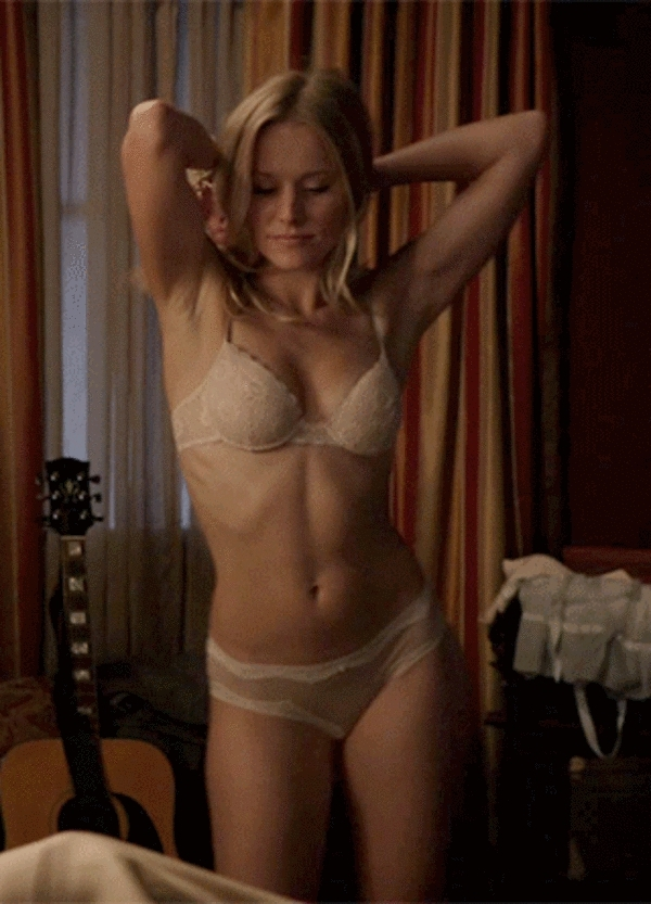 Kristen Bell Dancing in her underwear VIDEO