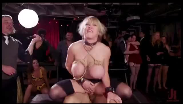 theUpperFloor - Dee Williams, Nikki Darling Squirting DP Anal Sluts Serve the Folsom Fuckfest