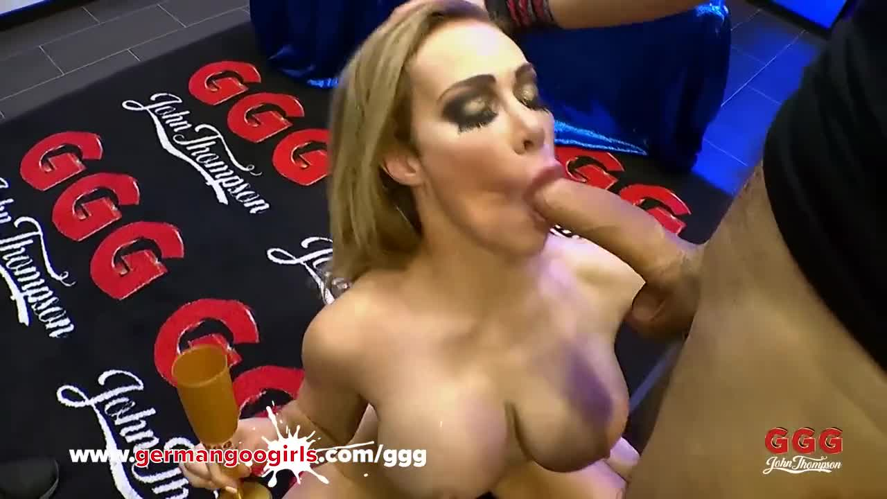 Wet Chessie Kay has oral ending with cumswallow in GGG studios