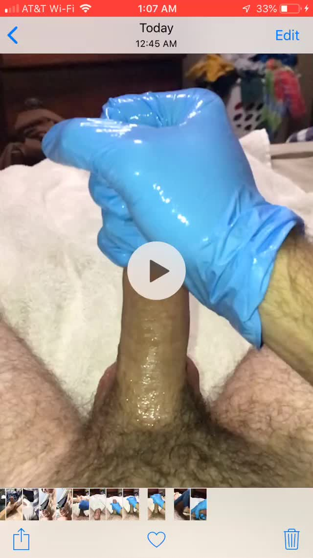 lube, glove, and slo-mo = a good time.