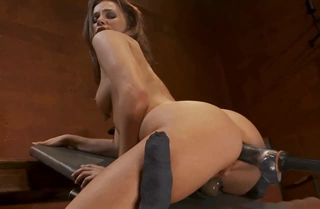 Tori Black's perfect ass gets a machined anal pounding
