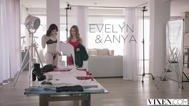 (Vixen) Anya Olsen & Evelyn Claire - More Than a Photoshoot