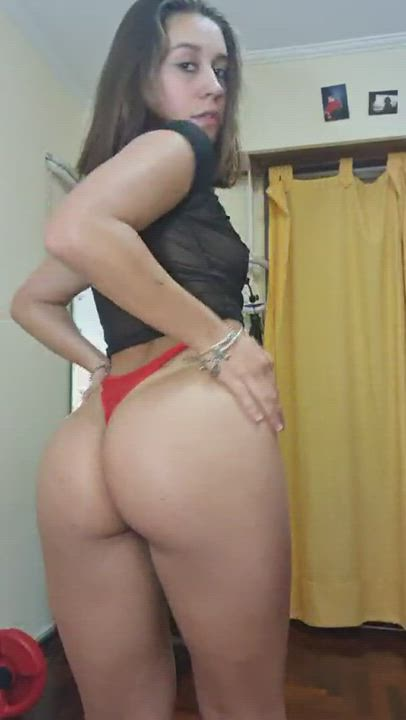How long would you last inside my barely legal booty?