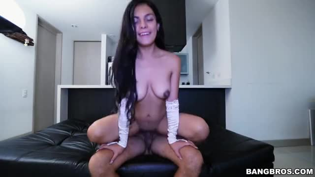 Hot Colombian first time