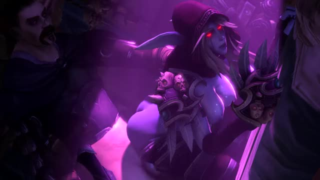sylvanas fucked from behind