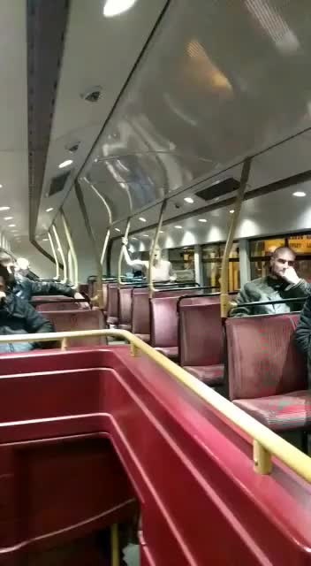 Topless woman fucking on the bus ride home (xpost /r/flashingandflaunting)