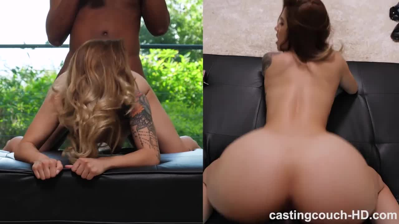 Tattooed babe Holly back again for another casting