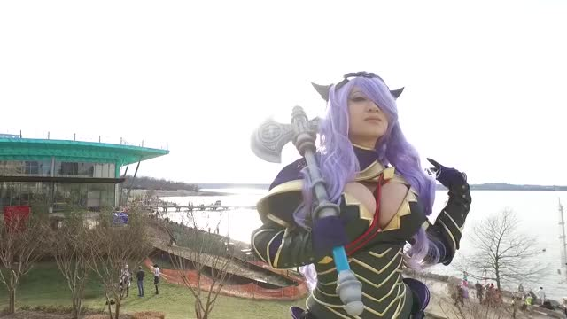 Watch Yaya Han GIF by Shin88 (@shin88) on Gfycat. Discover more cosplay, katsucon 2017, yaya han GIFs on Gfycat