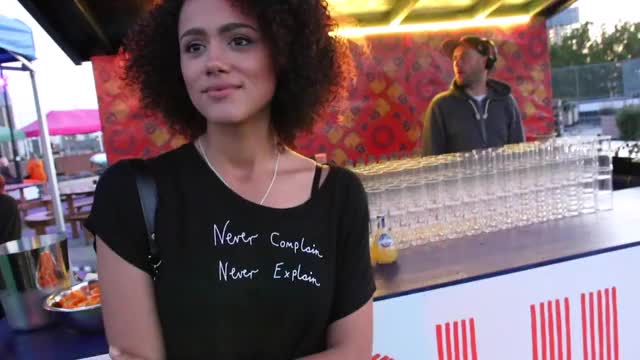 Watch Nathalie Emmanuel - Curry Goat GIF by @achaewa on Gfycat. Discover more Nathalie Emmanuel GIFs on Gfycat