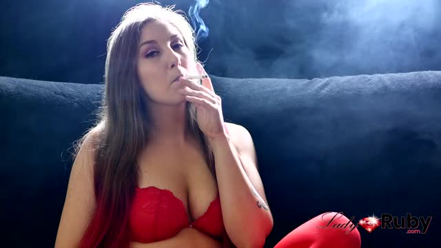 will u be my valentine ? Sexy smoker slut impure talk.