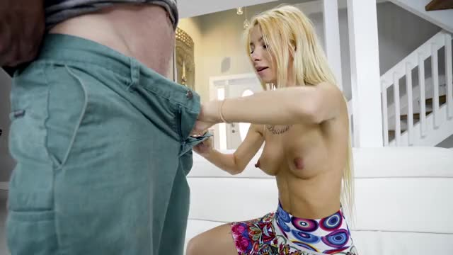 kenzie Reeves - Tiny Blonde's First Monster Dick