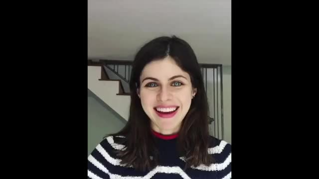 Watch Alexandra Daddario - Blue Eyes GIF by @achaewa on Gfycat. Discover more Alexandra Daddario GIFs on Gfycat