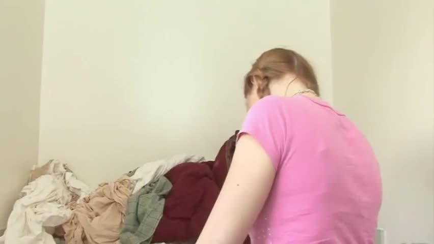 Marie Up On The Washer