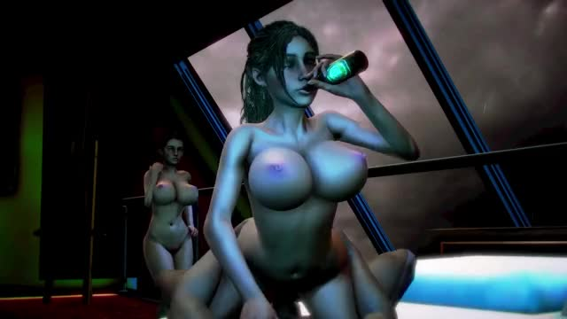 Claire, Jill - drunk threesome at the penthouse (paco669)