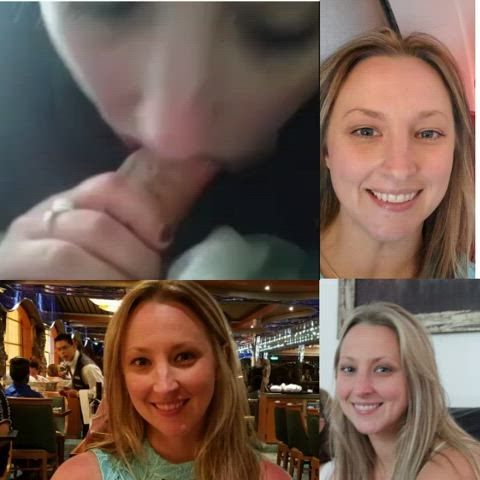 Does my wife look beautiful with cock in her mouth? Like and comments what you think to see more.