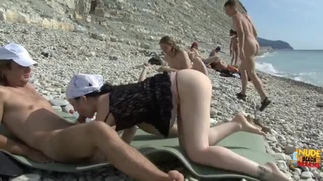 nudists having sex at the beach