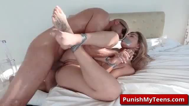 Audrey Royal Bound and Fucked