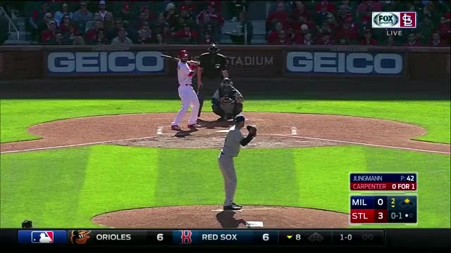 Watch Marp RBI triple (reddit) GIF by @vanillaskin on Gfycat. Discover more cardinals GIFs on Gfycat