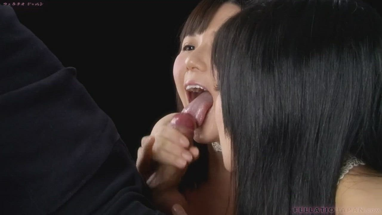 Two Asians Make a Dick Explode