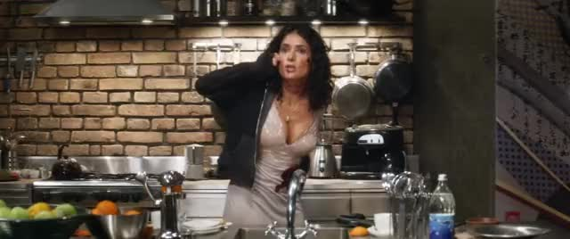 salma Hayek constricted plot in