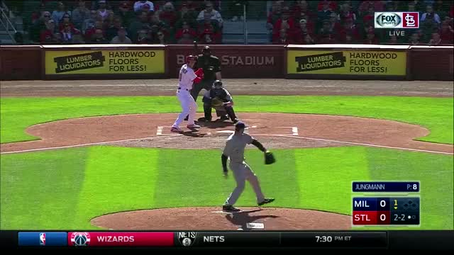 Watch Hazelbaker hits a triple (reddit) GIF by @vanillaskin on Gfycat. Discover more cardinals GIFs on Gfycat