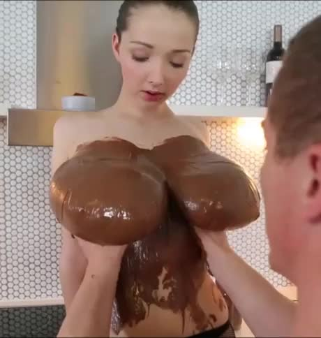 chocolate boobs