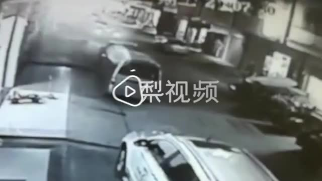 Three-wheeler sticks it in reverse and crushes a 4 year old girl against a wall