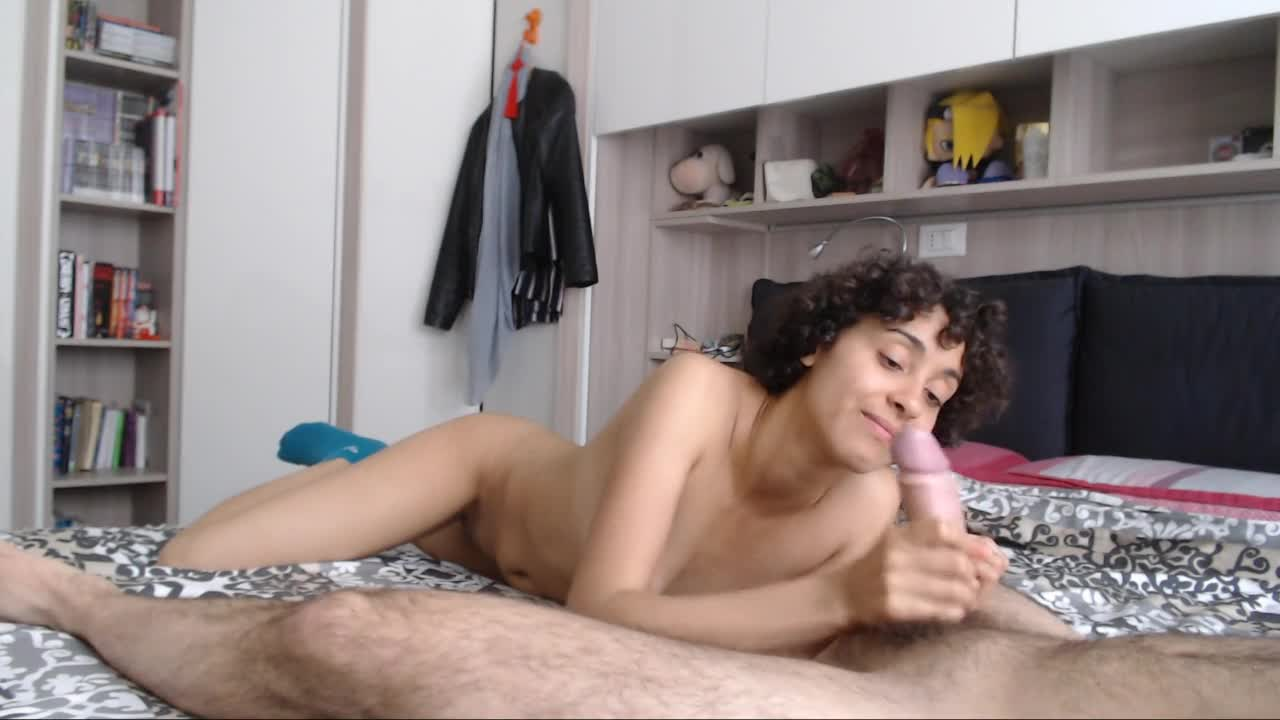 She Plays With Cum After Ruining Porn GIF