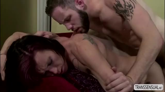 Shemale River collectively with Wolf Hudson in an anal intercourse
