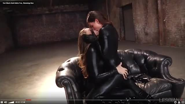 lesbos in Leather