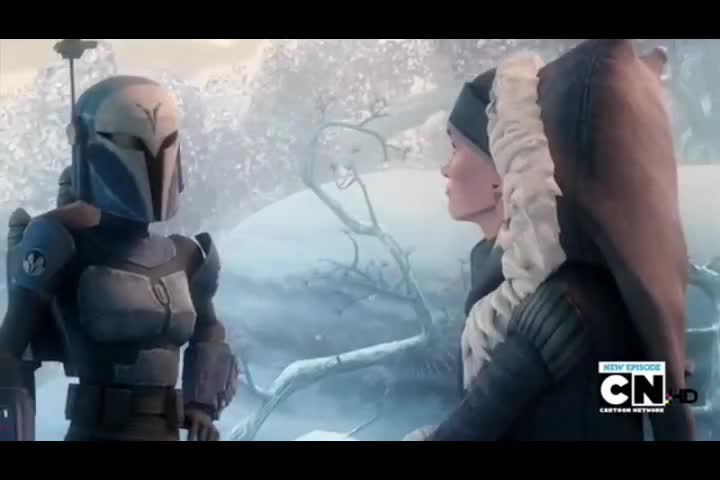 Remember when Bo Katan slapped Ahsoka's ass?