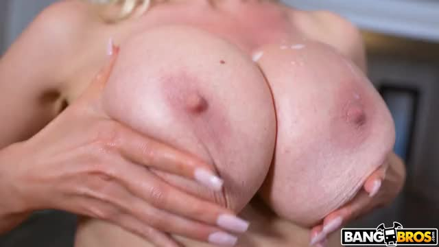 playing with her cummed on bumpers